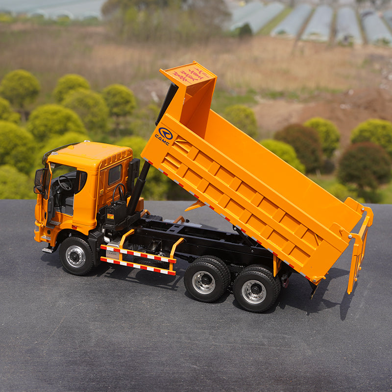 Original factory rare 1:28 Valin Star Kaima diecast dump truck Heavy truck construction truck alloy model for collection