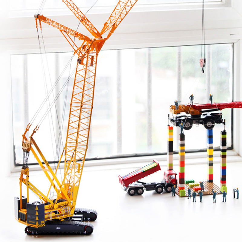 1/50 Scale Model XCMG QUY300 Crawler Crane Construction machinery Diecast  Model