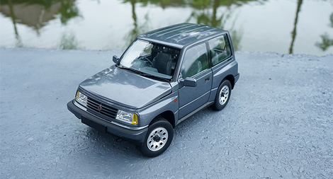 Original factory authentic 1:18 DORLOP diecast Suzuki Vitara Escudo car models for gift, toys, collection