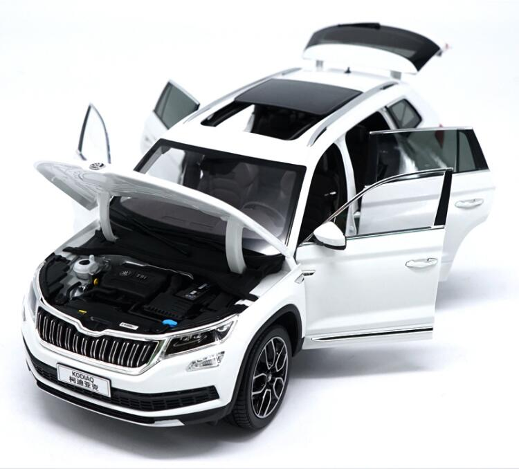 1/18 Scale Skoda Kodiaq Suv Diecast Model Car