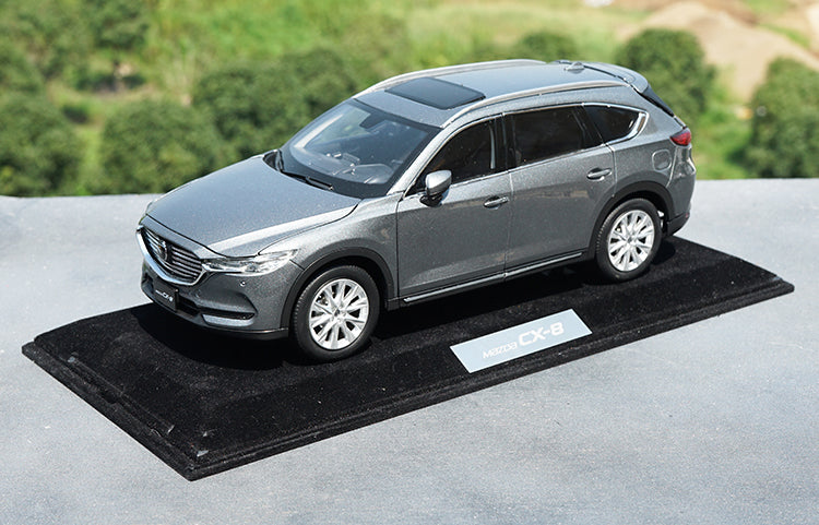 High quality collectiable 1:18 Changan MAZDA CX-8 Mazda 8  CX8 2019 version diecast car model for Chirstmas/birthday gift