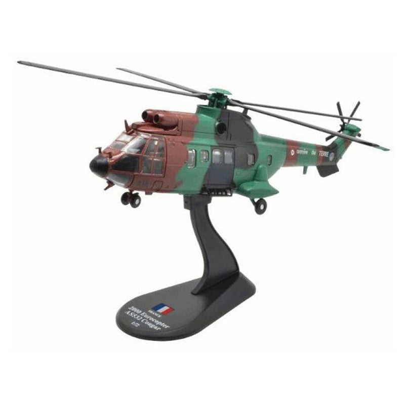 1:72 French AS532 Cougar Puma helicopter alloy model