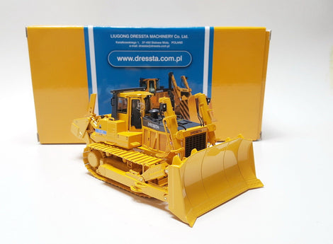 Original Authorized Authentic 1:50 Scale Liugong Dressta TD-40E Engineering Machinery Bulldozer toy metal Model for Christmas gift,collection