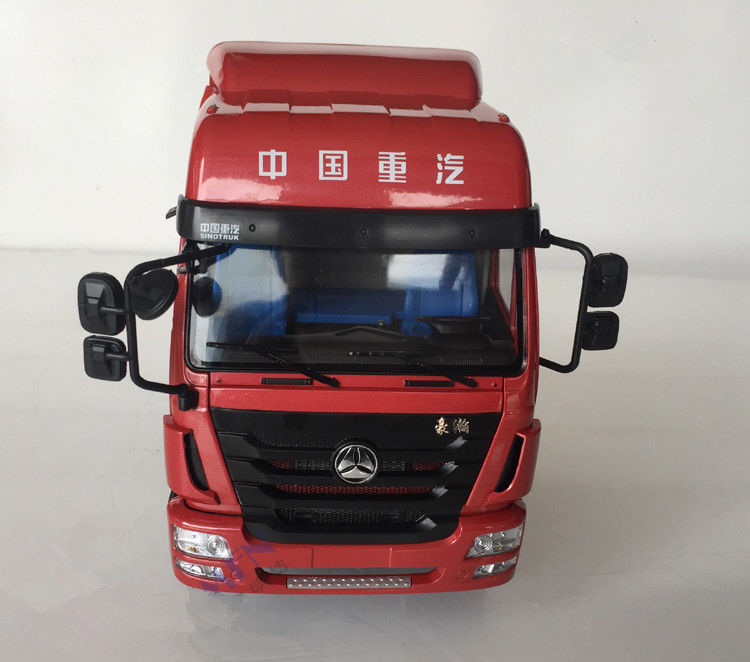 Original Collectible 1:24 Original Sinotruck Hohan 682 Truck Tractor Vehicle Diecast Toy Model Collect Gift