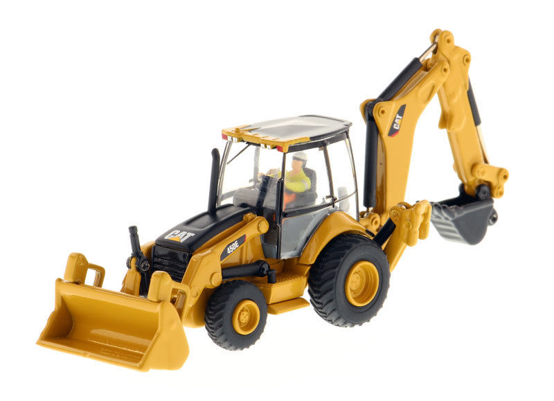 1/87  Box-packed Caterpillar 450E Backhoe Loader model-High Line Series 85263