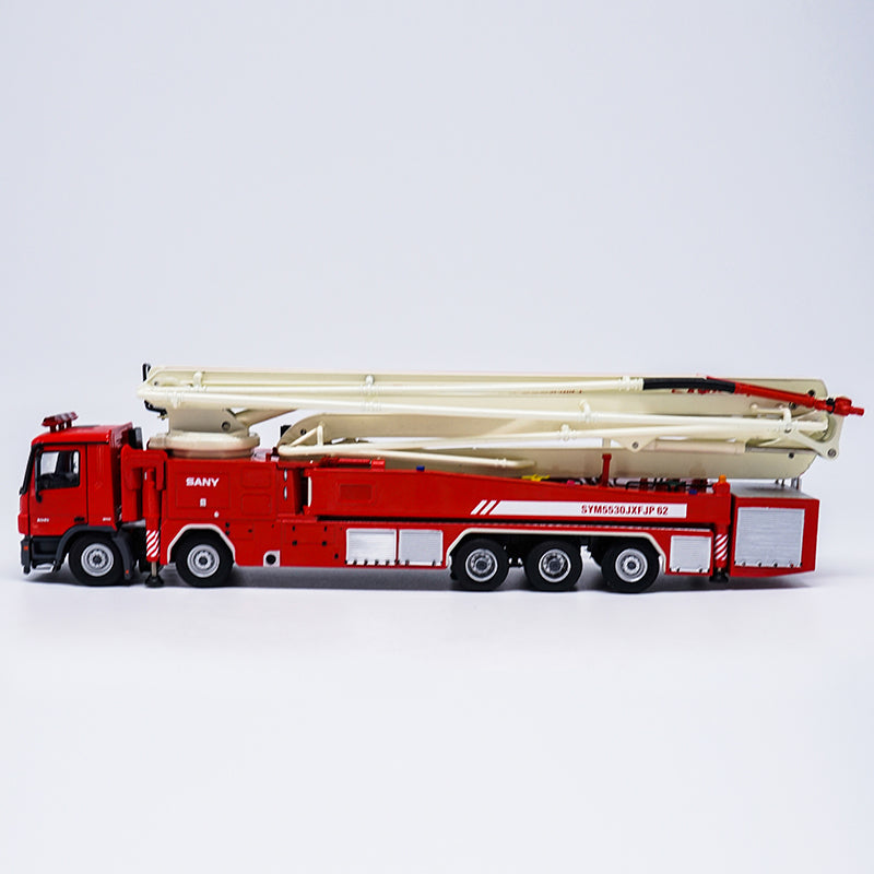 High classic 1 50 Scale China Original Sany 62m Water Tower Fire Truck Diecast Model