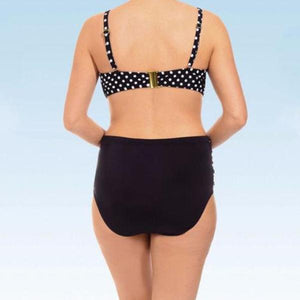 High Waist Vintage Polka Dot Bikini (in Plus Size!)