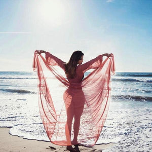 Summer Lace Crochet Bikini Cover Up