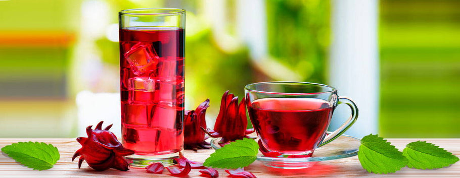 The Bountiful Combination of the Hibiscus Flower and Stevia