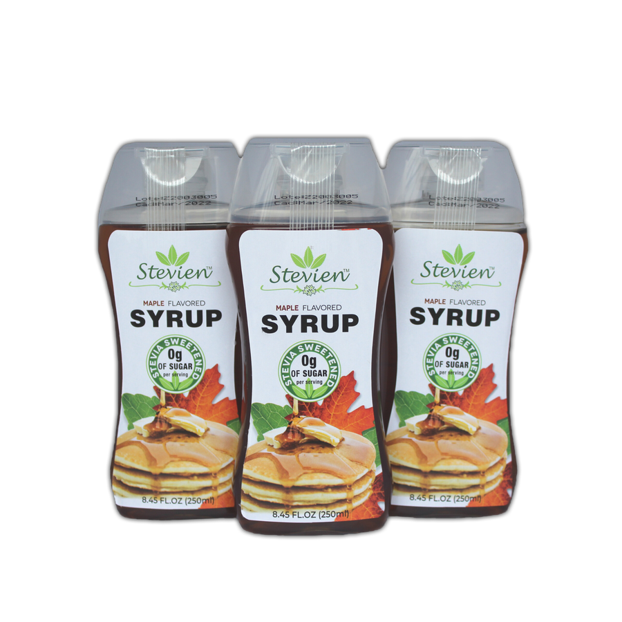 KETO MAPLE SYRUP 3-PACK - SUGAR FREE, LOW CARB