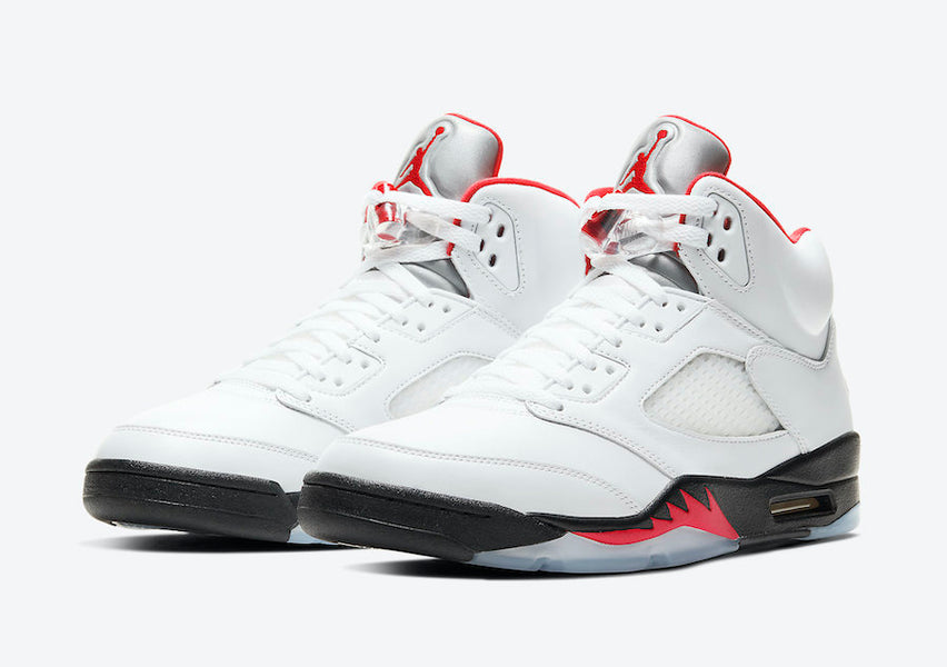 "Air Jordan 5 ""Fire Red"" Release Date Pushed Back"