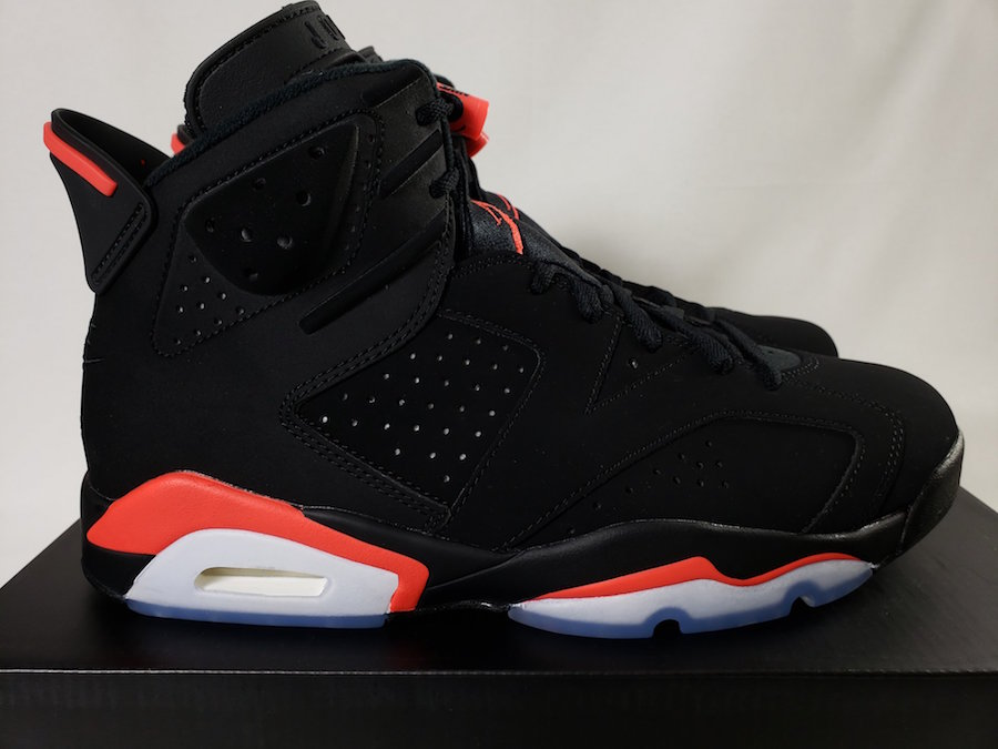 "46ce8917e3b1a Air Jordan 6 ""Black Infrared"" Will Release With 3M – HaveFaithClothingCo"
