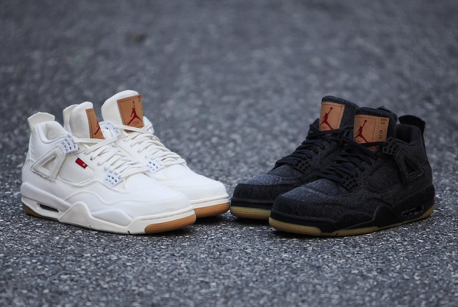 "1ba983b985b All The Details On Both Levi's x Air Jordan 4 in ""Black"" and ""White"" –  HaveFaithClothingCo"