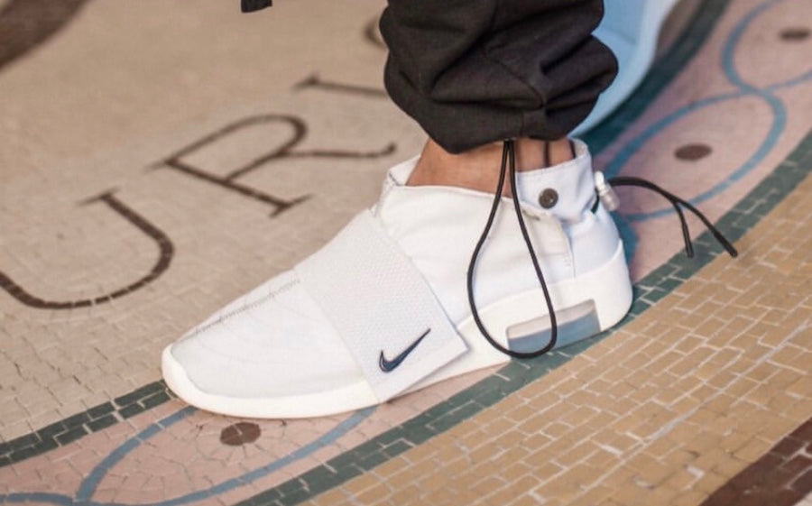 An On-Foot Look at the Nike Air Fear of