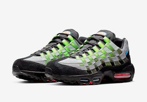 Nike Adds Intertwined Woven Uppers To The Air Max 95