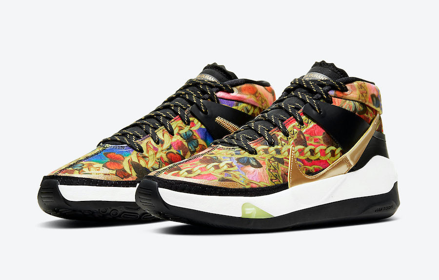 "Versace-Themed Nike KD 13 ""Butterflies and Chains"""