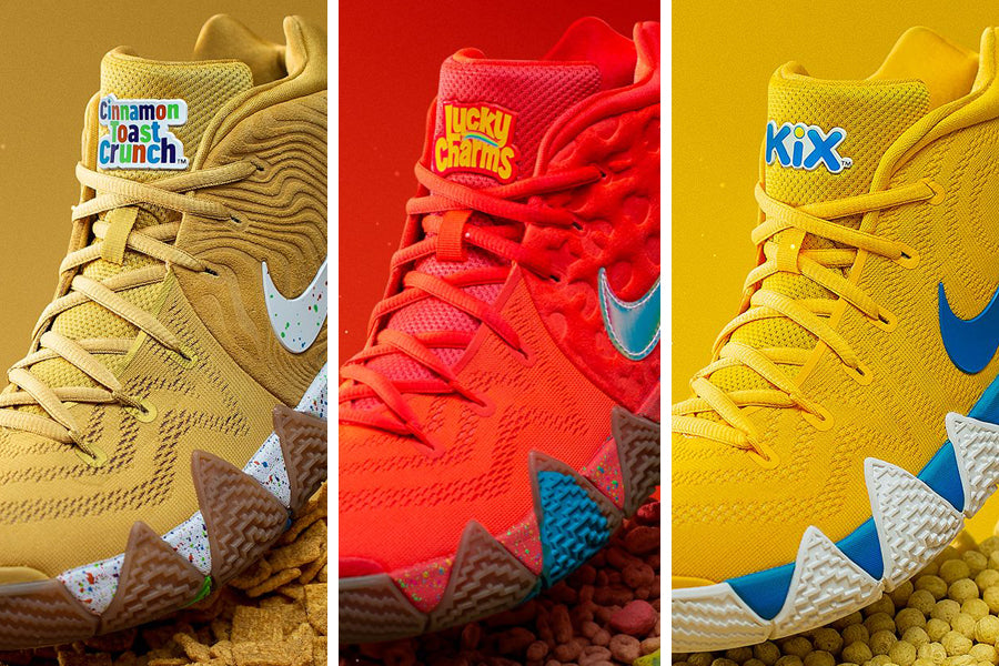 "save off bc666 2e191 How To Buy The Nike Kyrie 4 ""Cereal Pack"" – HaveFaithClothingCo"