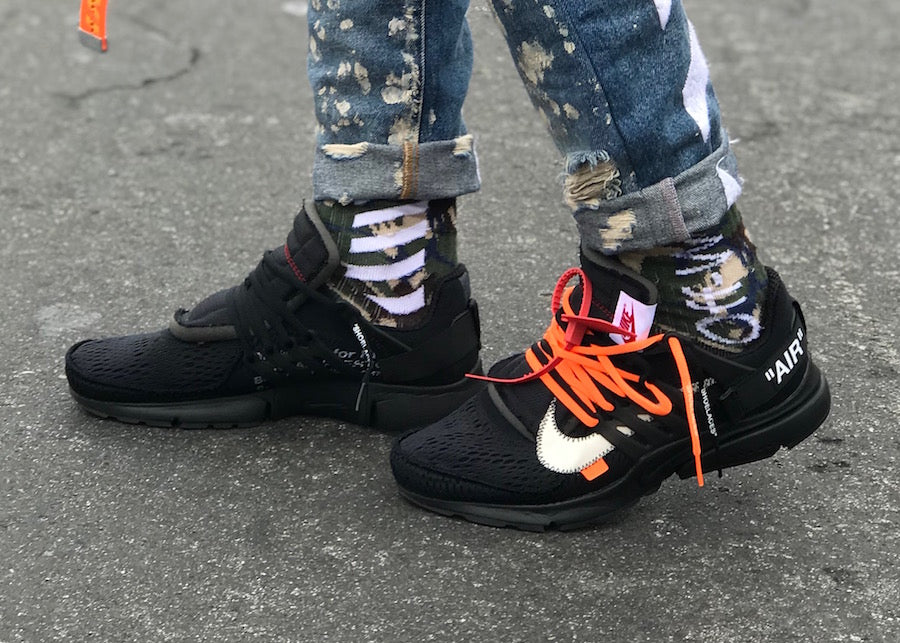 How The Off-White x Nike Air Presto in