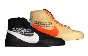 "Off-White x Nike Blazer Mid ""Spooky"" Pack Release Dates"