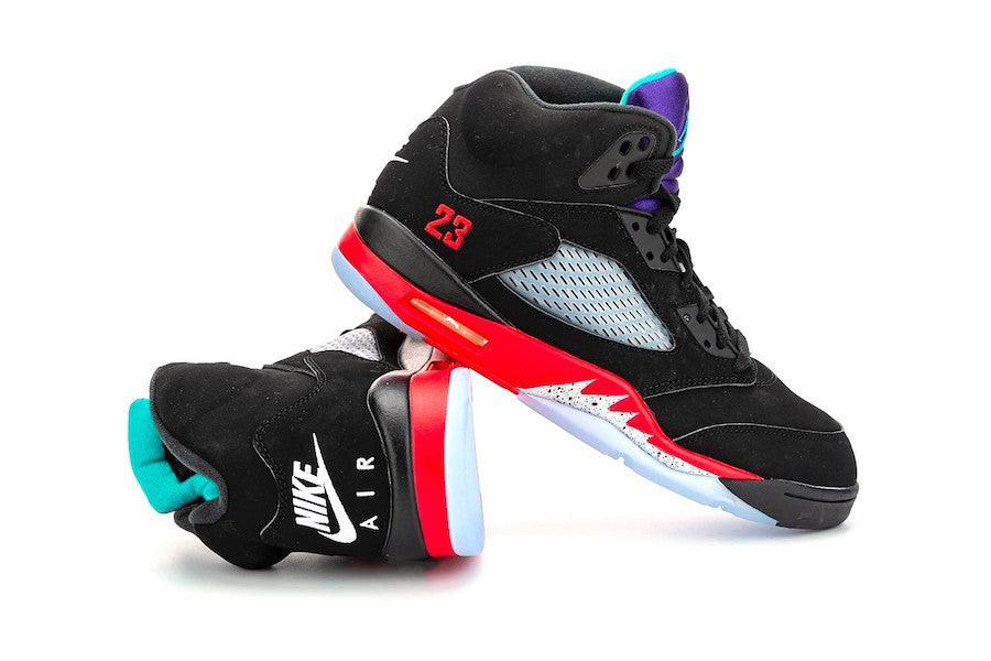 "Air Jordan 5 ""Top 3"" Release Postponed"
