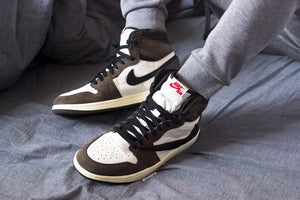 On-Feet Photos of Travis Scott's Air Jordan 1