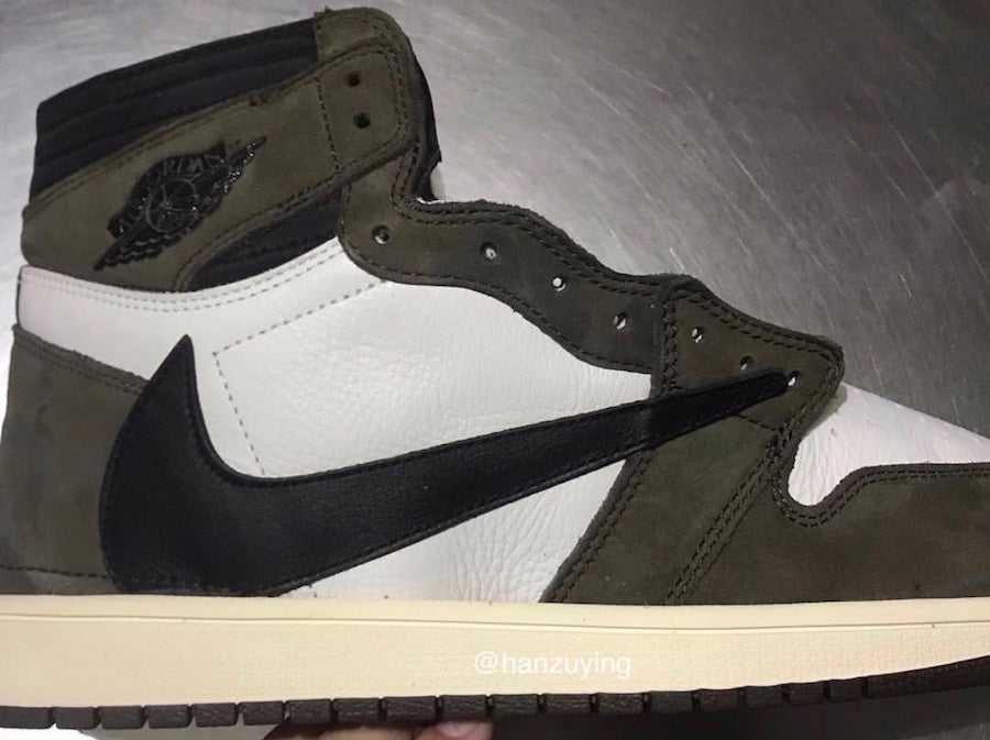 7c3c34aa Another Look at the Upcoming Travis Scott x Air Jordan 1 –  HaveFaithClothingCo