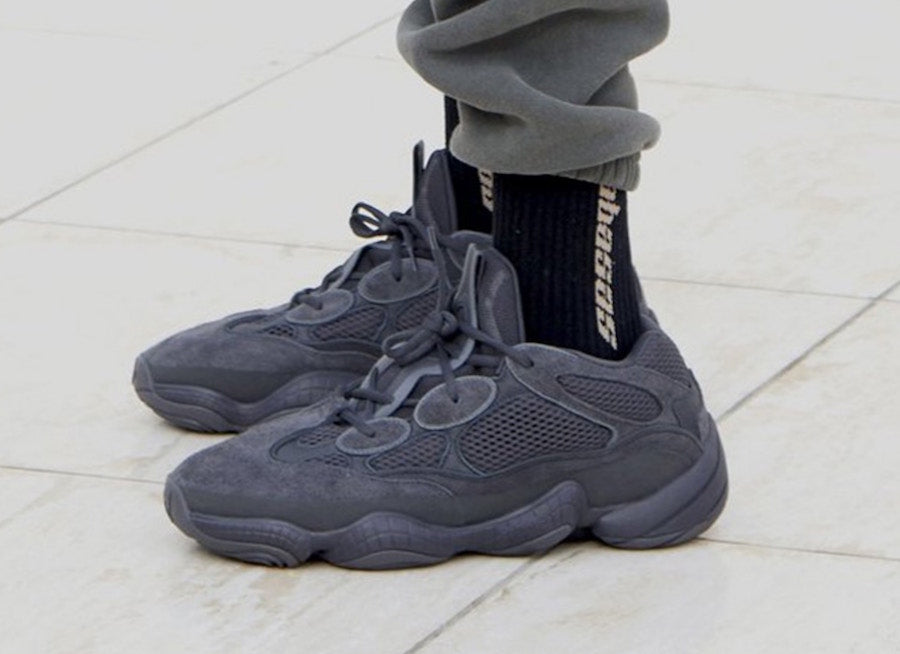 """timeless design 14cfe f9570 adidas Yeezy 500 """"Utility Black"""" Release Date ..."""