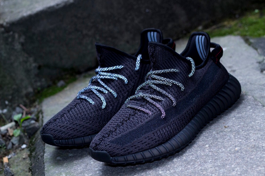 """db43f3762 adidas Yeezy Boost 350 V2 """"Black"""" Releasing With Reflective Detailing –  HaveFaithClothingCo"""