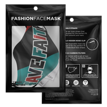 Have Faith (Top 3 Retro 5's) Face Mask - Shop Men, Women, Kids clothing and accessories To Match Your Kicks online