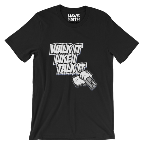 Walk It Like I Talk It(OG Blue Moon 1s) T-Shirt - HaveFaithClothingCo