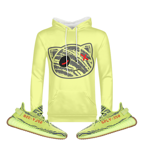 Have Faith (Yeezy 350 Boost Semi Frozen Yellow) Hoodie