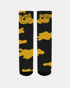 HF Camo (University Gold Retro 12's) Socks - Shop Men, Women, Kids clothing and accessories To Match Your Kicks online