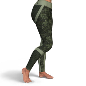 Hexed Camouflage Yoga Pants