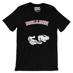 Rolling (Elemental Rose Foams) T-Shirt - HaveFaithClothingCo