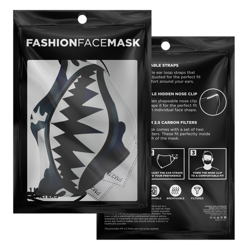 Have Faith Camo (Flint Retro 13's) Face Mask - HaveFaithClothingCo