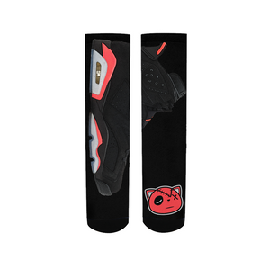 Kick Game Strong (Retro 6 Infrared) Socks - Shop Men, Women, Kids clothing and accessories To Match Your Kicks online