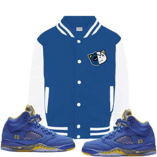 Have Faith (Retro 5 Alternate Laney) Varsity Jacket - HaveFaithClothingCo