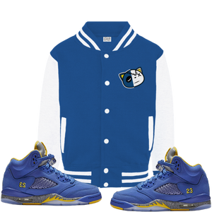 Have Faith (Retro 5 Alternate Laney) Varsity Jacket