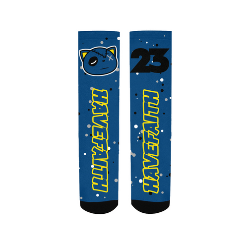 Have Faith (Retro 5 Alternate Laney) Socks