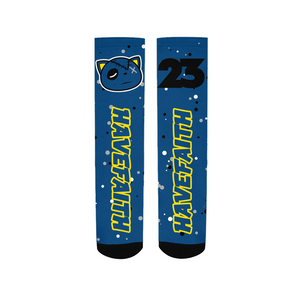 Have Faith (Retro 5 Alternate Laney) Socks - Shop Men, Women, Kids clothing and accessories To Match Your Kicks online