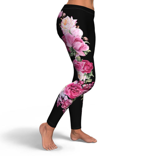 Floral Leggings - HaveFaithClothingCo