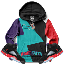 Have Faith (Top 3 Retro 5's) Hoodie - HaveFaithClothingCo