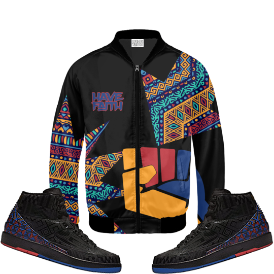 Have Faith BHM (BHM 2's) Bomber Jacket