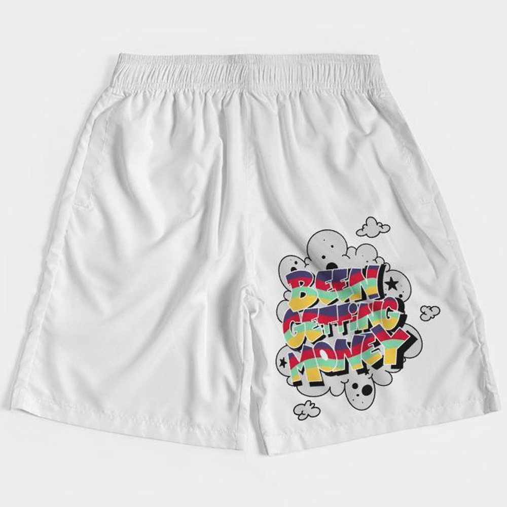 Been Getting Money (Hare Retro 6's) Jogger Shorts - HaveFaithClothingCo