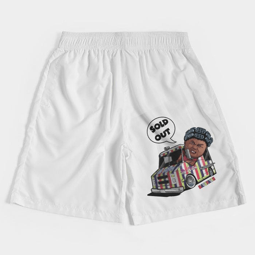 Big Worm (Alt Bel-Air Retro 5's) Jogger Shorts - HaveFaithClothingCo