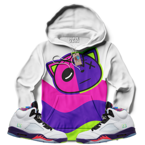 Have Faith Wave (Alt Bel-Air Retro 5's) Hoodie - Shop Men, Women, Kids clothing and accessories To Match Your Kicks online