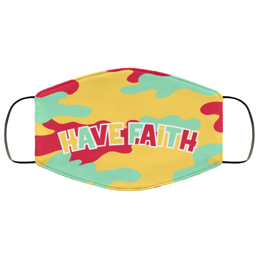 Have Faith (Hare Retro 6's) Face Mask - HaveFaithClothingCo