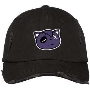 Have Faith (Purple Lobster SB's) Distressed Dad Hat