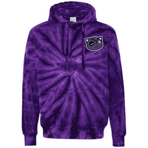 Have Faith Logo (Purple Lobster SB's) Tie-Dyed Pullover Hoodie