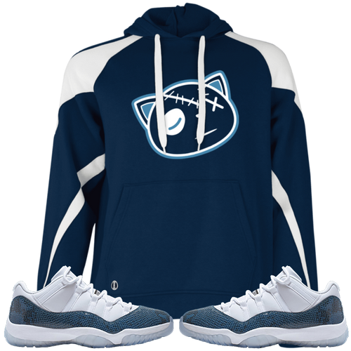 Have Faith (SnakeSkin Navy 11's) Hoodie